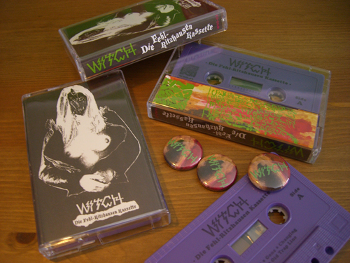 WITCH live – Cassette OUT NOW !!! | Who Can You Trust? Records